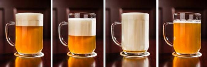Different styles of beer drafting visit pilsen