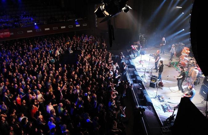 concert of a Czech band Pilsner Fest