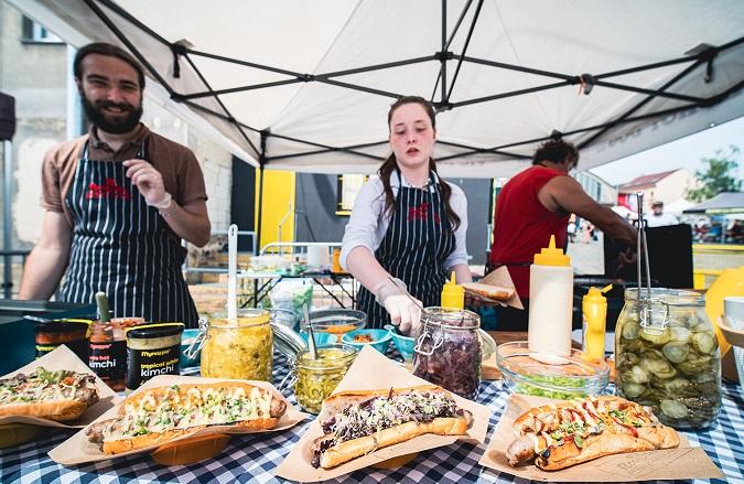 DEPO Street Food Market in DEPO2015 in Pilsen